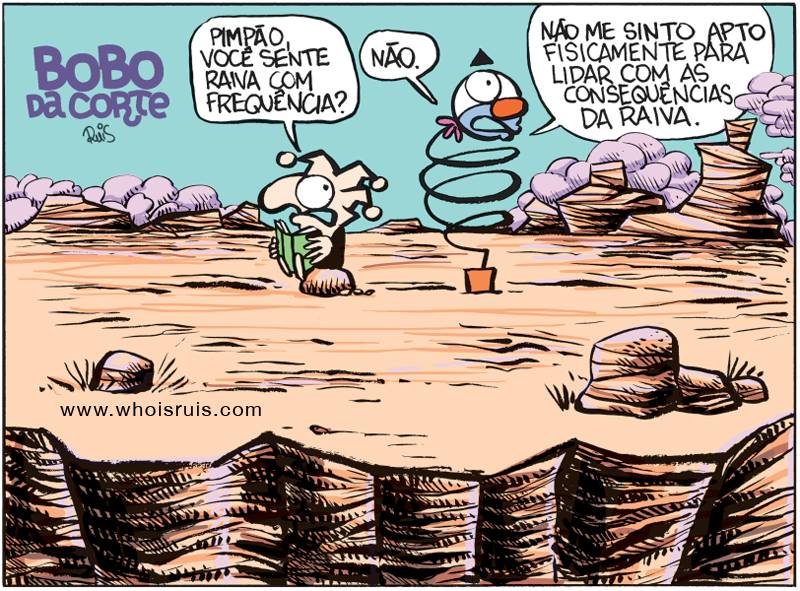 """Tira dominical do Bobo nos jornais """"A Cidade"""", de Ribeirão Preto, e """"Tribuna Impressa"""", de Araraquara. Confiram agora. Leitores dessas cidades e regiões, não percam aos domingos sempre uma tira dupla do Bobo. Toda segunda-feira, a tira de domingo vem para o blog."""